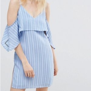 State of Being Stripped Sleeveless Dress